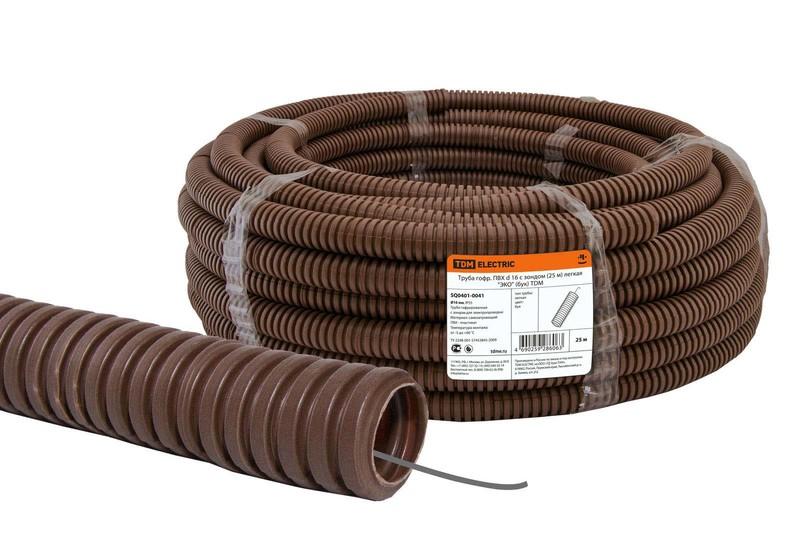 Важность гофры при укладке кабеля в доме и на улице