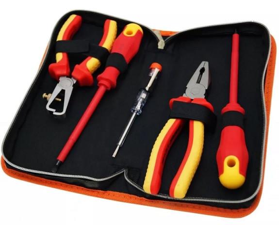Инструменты для электрика – перечень профессионального инструментария для домашнего и промышленного использования