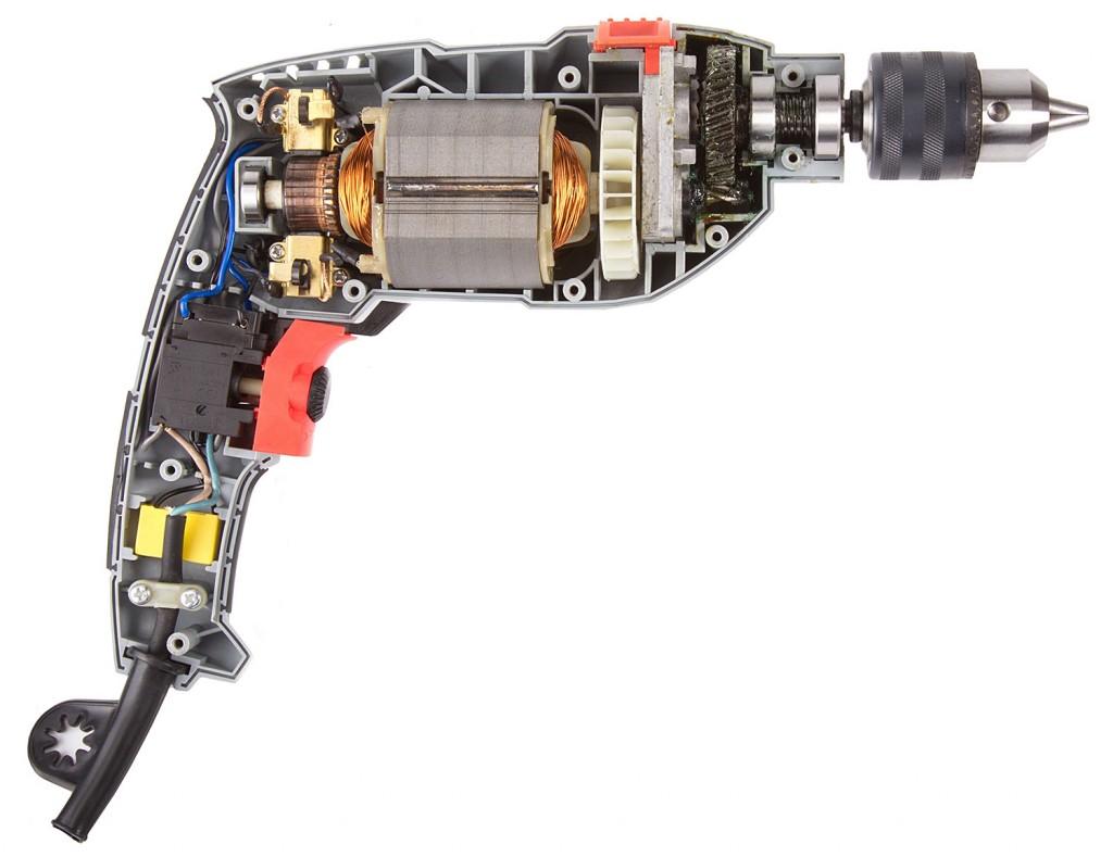 Как разобрать дрель и выполнить ее ремонт своими руками