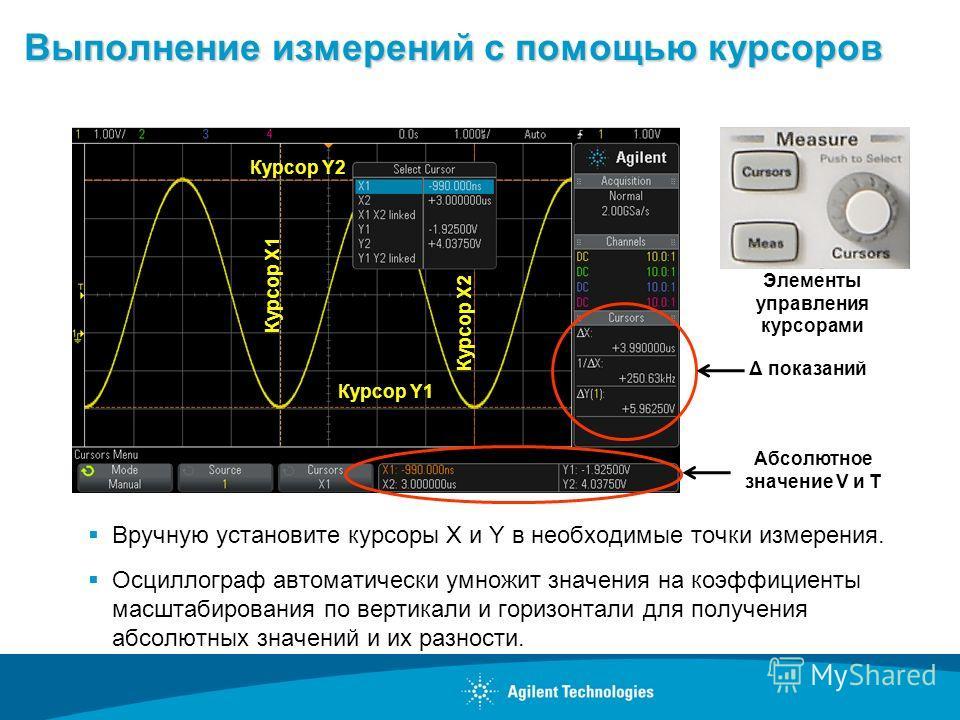 Основы осциллографических измерений (продолжение)