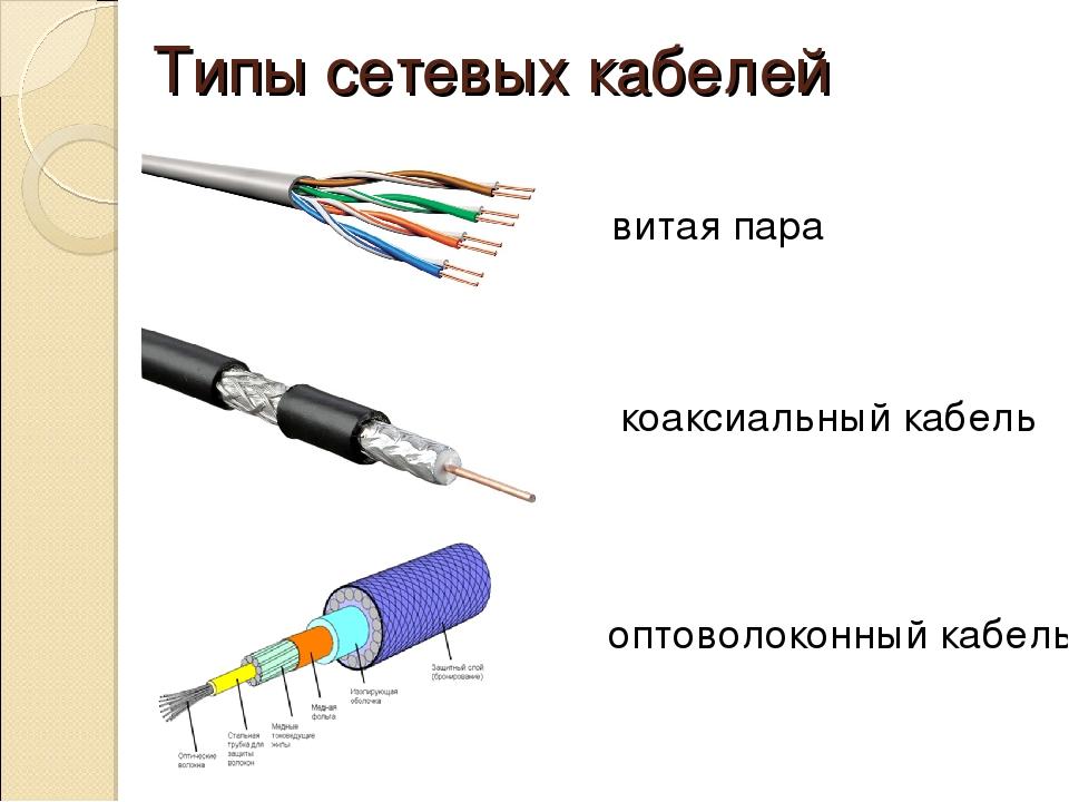 Какие бывают интернет-кабели и в чем их особенности