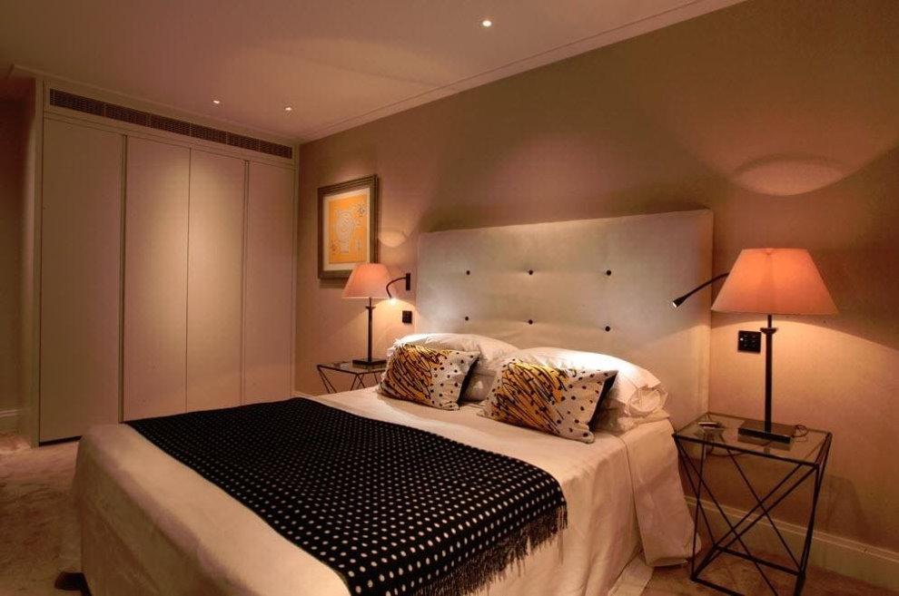 Освещение в спальне — рассматриваем все нюансы