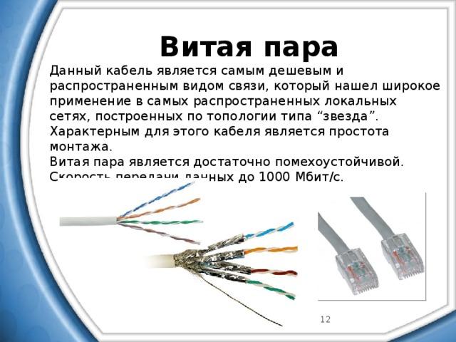 Кабель для интернета — устройство, виды как правильно выбрать провод для интернета