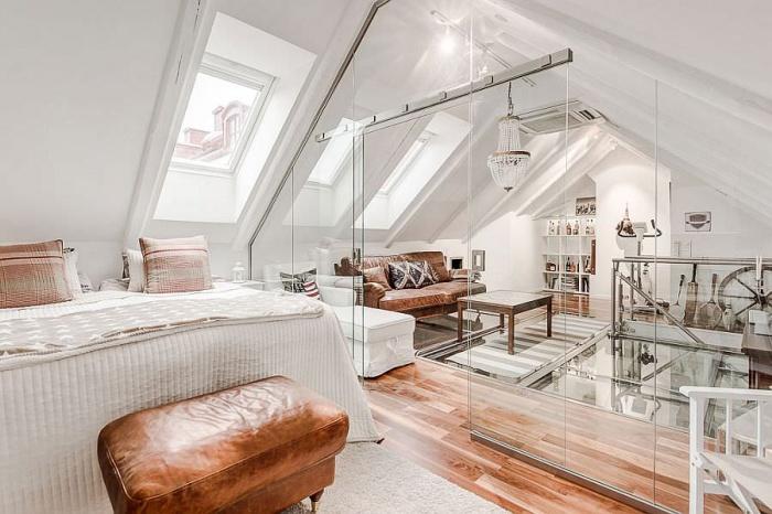 Как реализовать освещение на мансардном этаже?
