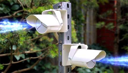 Как работают уличные датчики движения для охраны периметра?