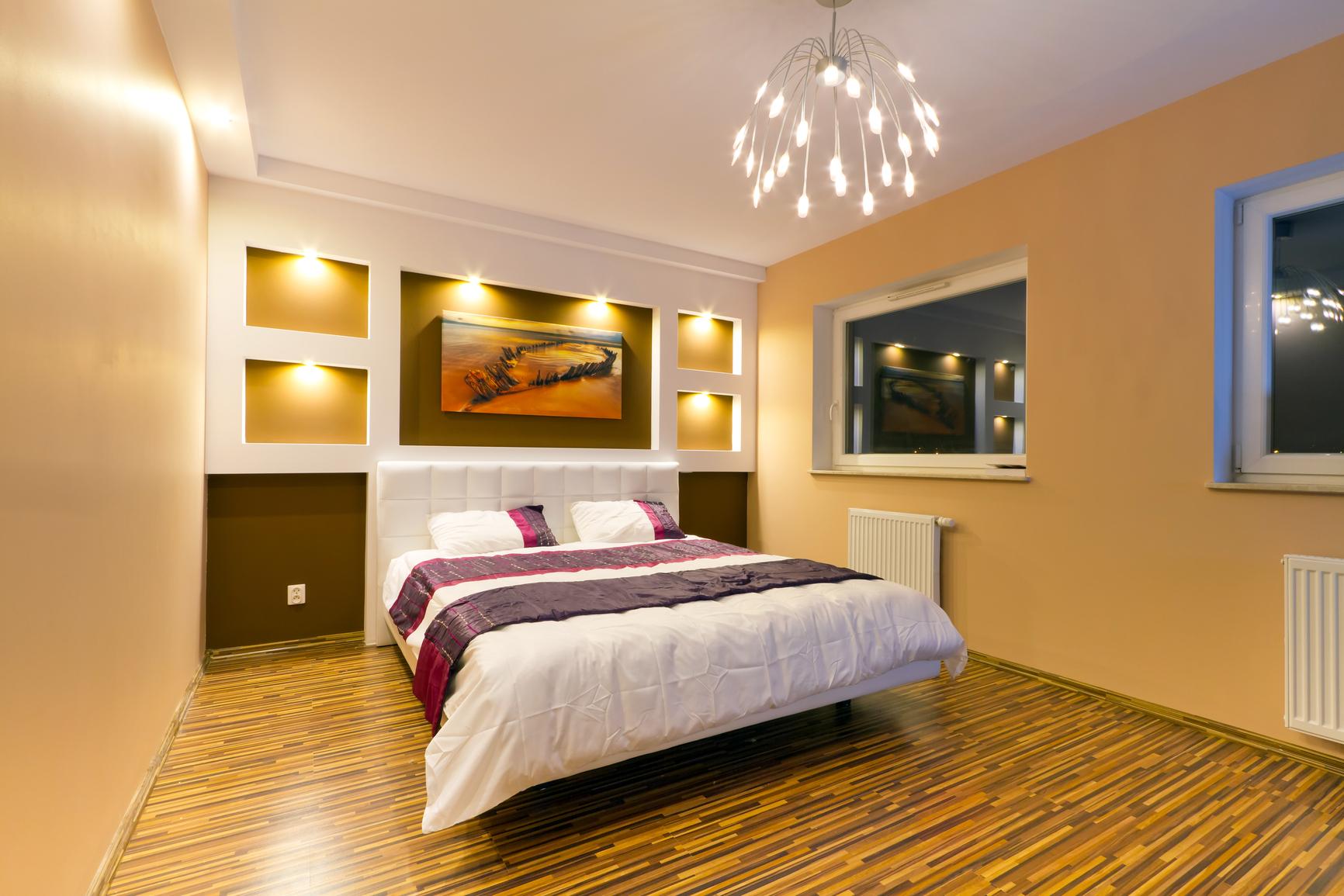 Грамотное освещение в спальне – комфортный отдых всей семье