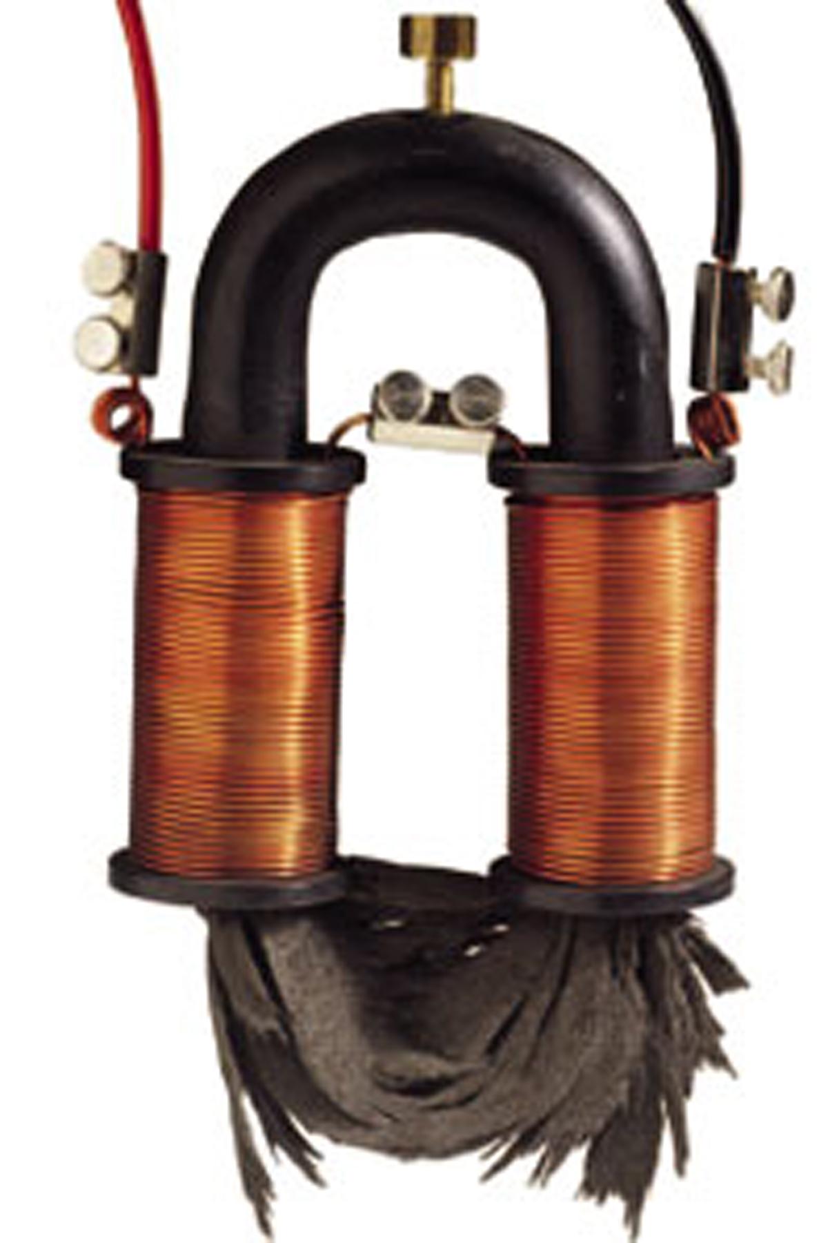 § 59. магнитное поле катушки с током. электромагниты и их применение