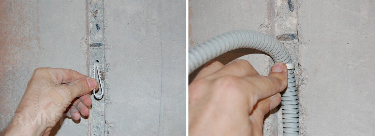 Крепление кабель канала к стене: этапы монтажа