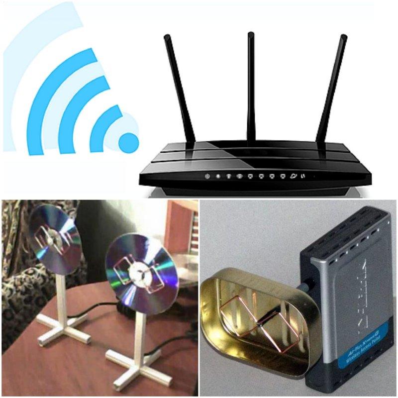 Wi-fi антенна: как делается своими руками из подручных материалов