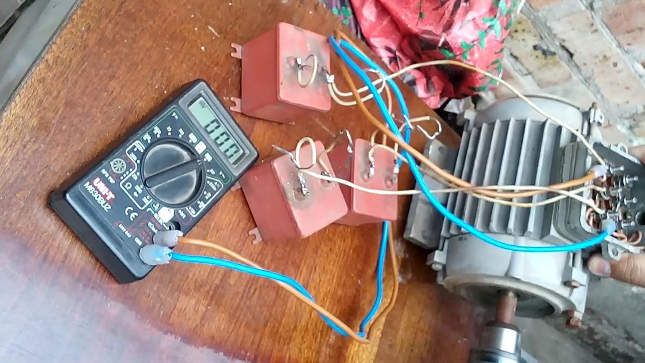 Самодельный генератор на 220 в с использованием 2-х тактного двигателя