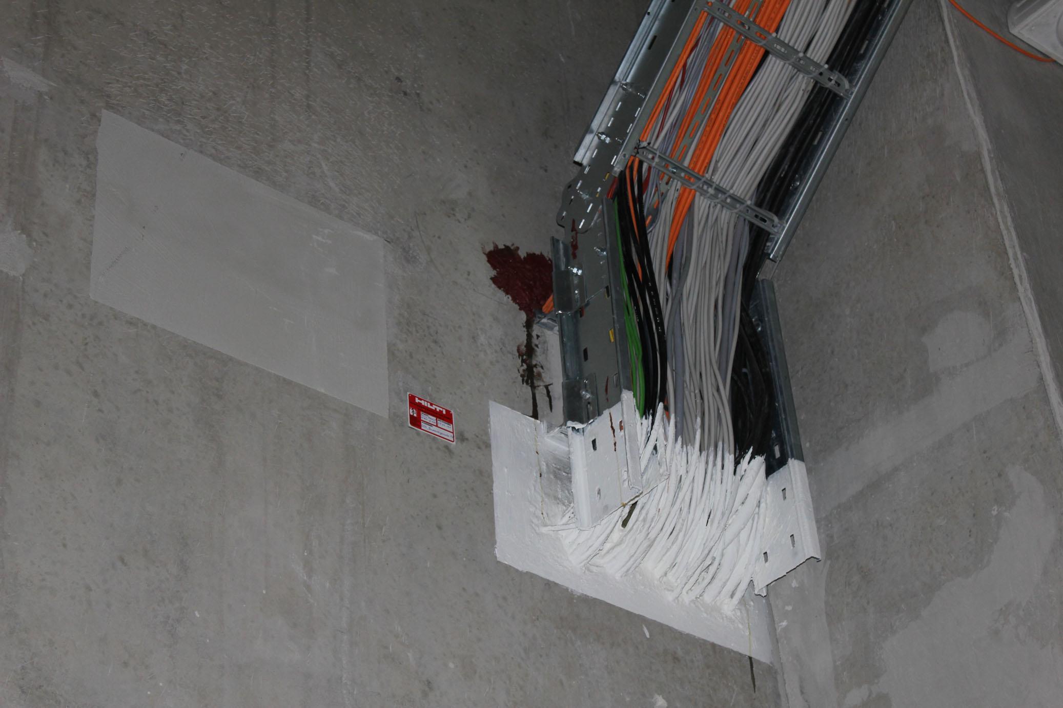 Как обеспечить огнезащиту кабеля