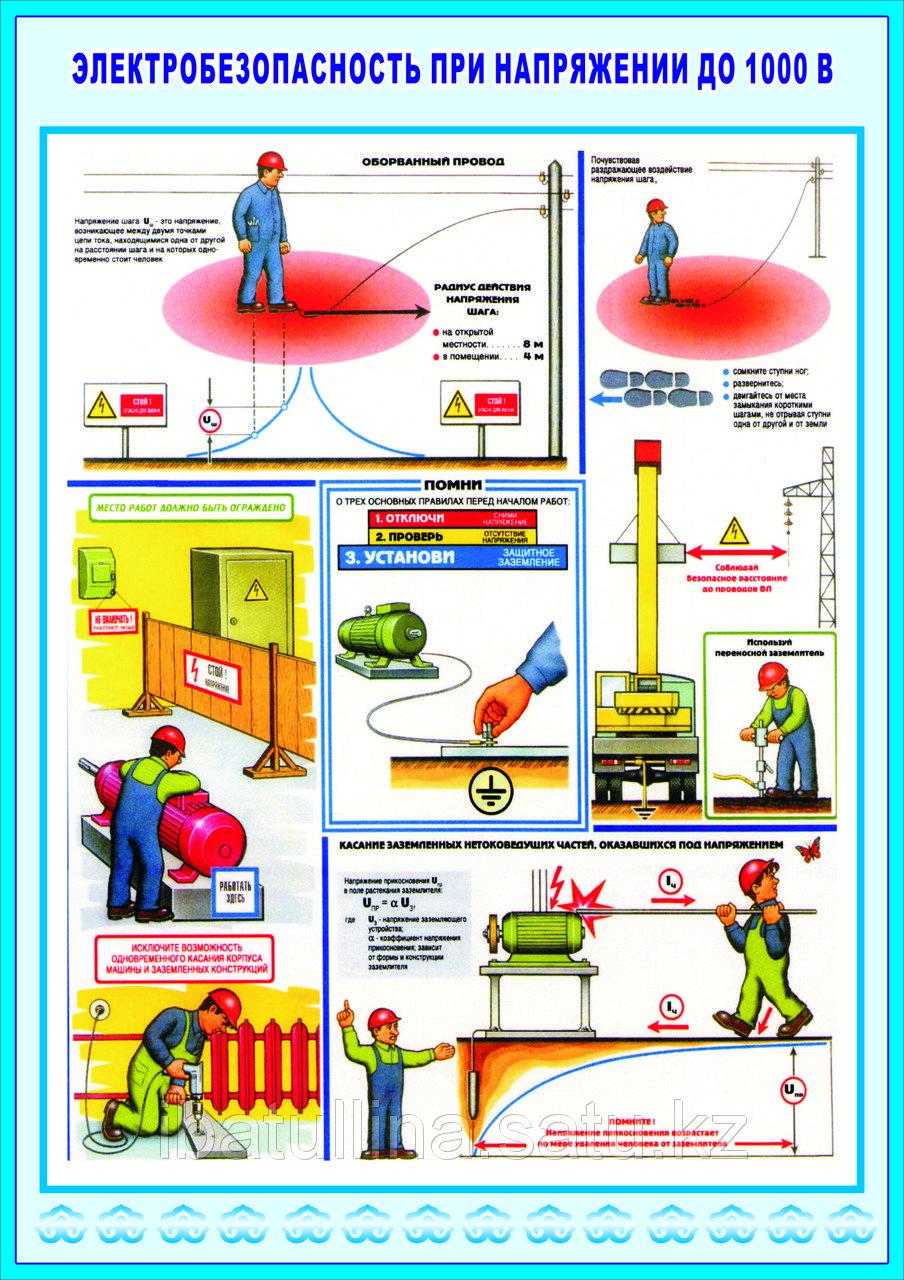 Общие положения по электробезопасности