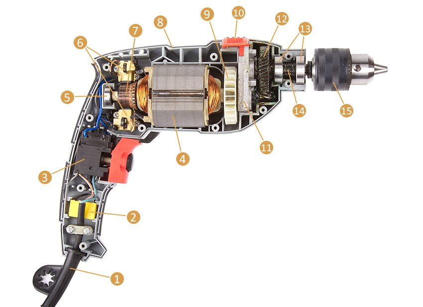 Замена и ремонт патрона дрели
