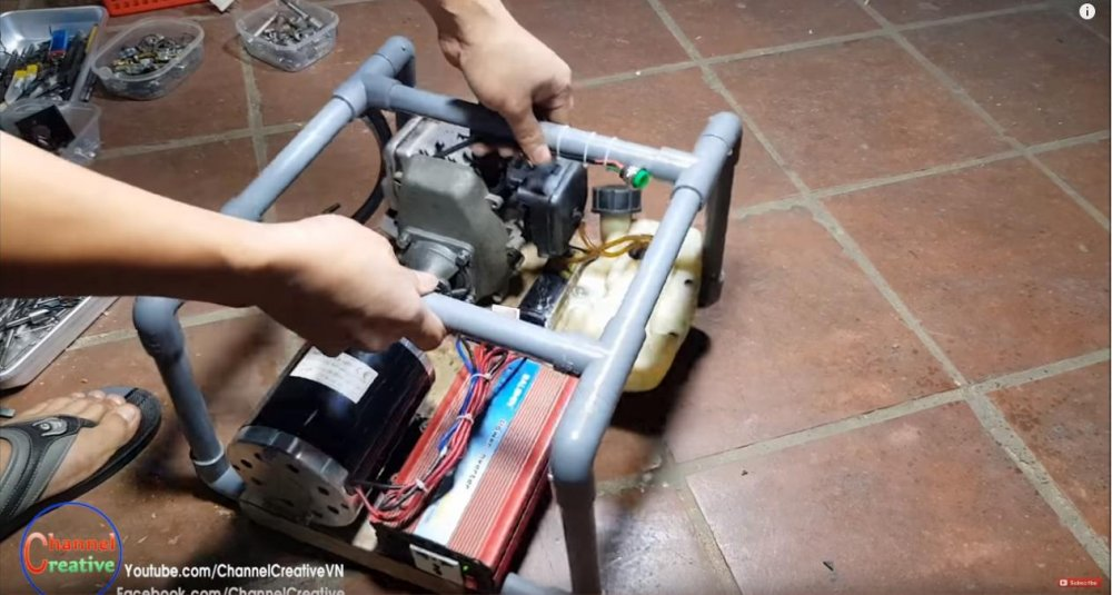 Самодельный бензогенератор своими руками — особенности исполнения