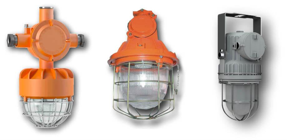 Светильники во взрывозащищенном исполнении