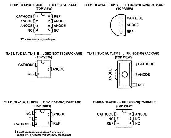 Как проверить источник опорного напряжения tl431
