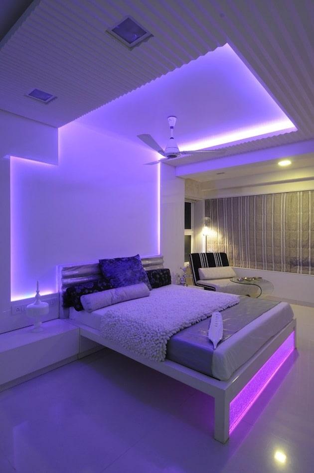 Как сделать led-подсветку (скрытый свет) на потолке