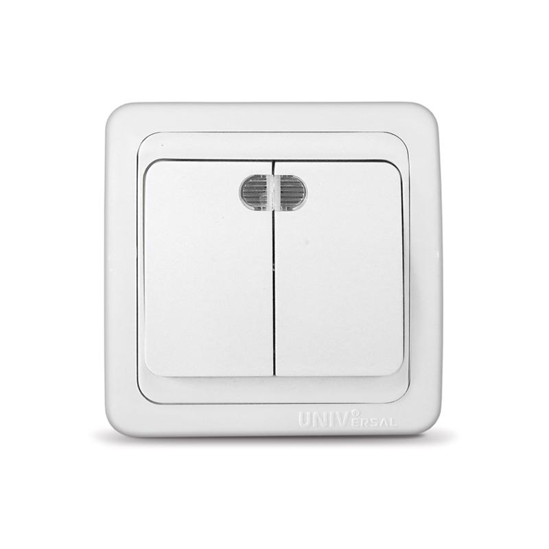 Схема выключателя с подсветкой