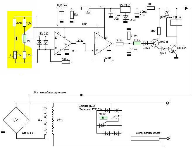 Сборка терморегулятора для инкубатора самостоятельно