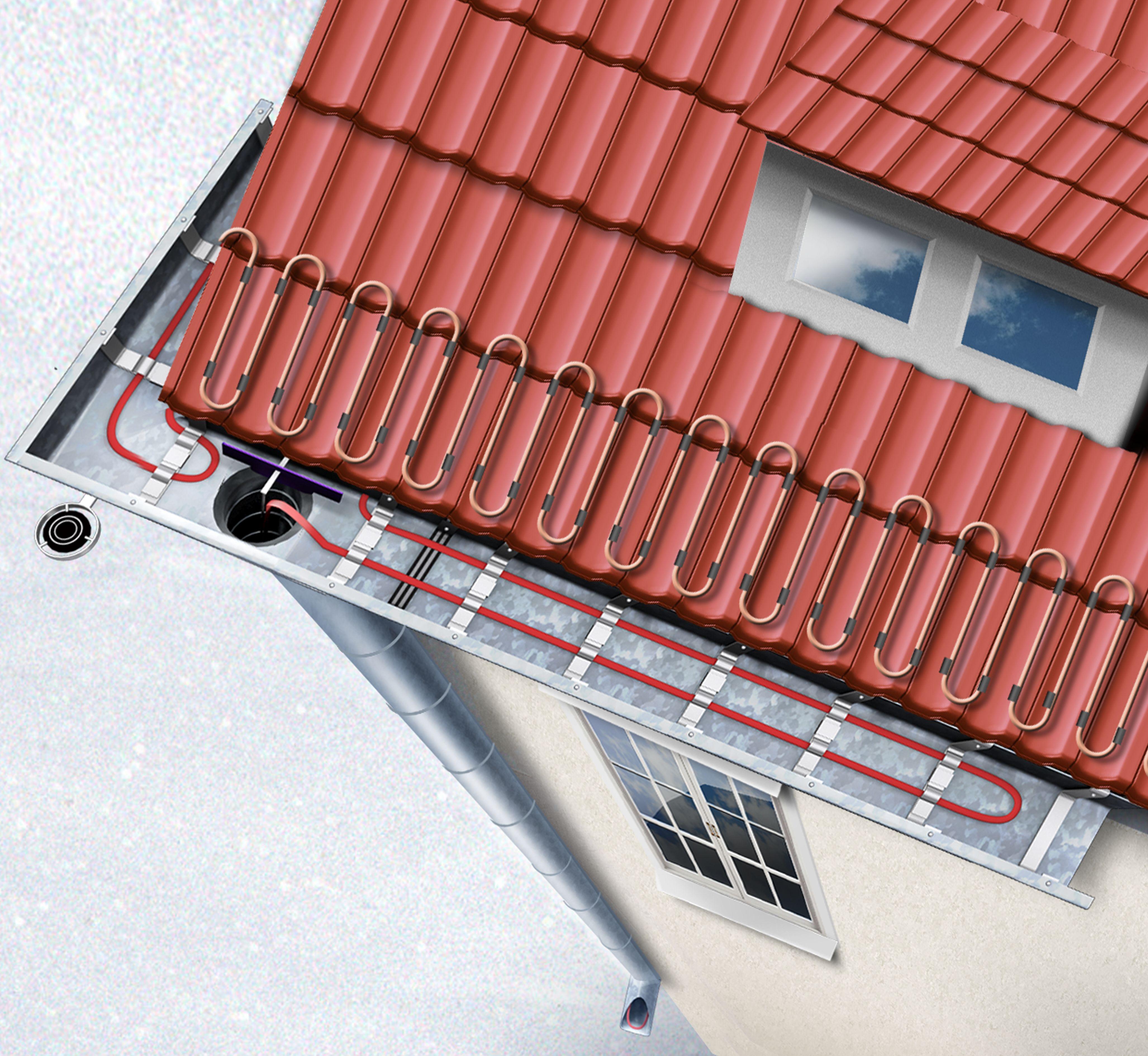 Устройство, выбор, принцип работы и монтаж греющего кабеля для водосточных труб