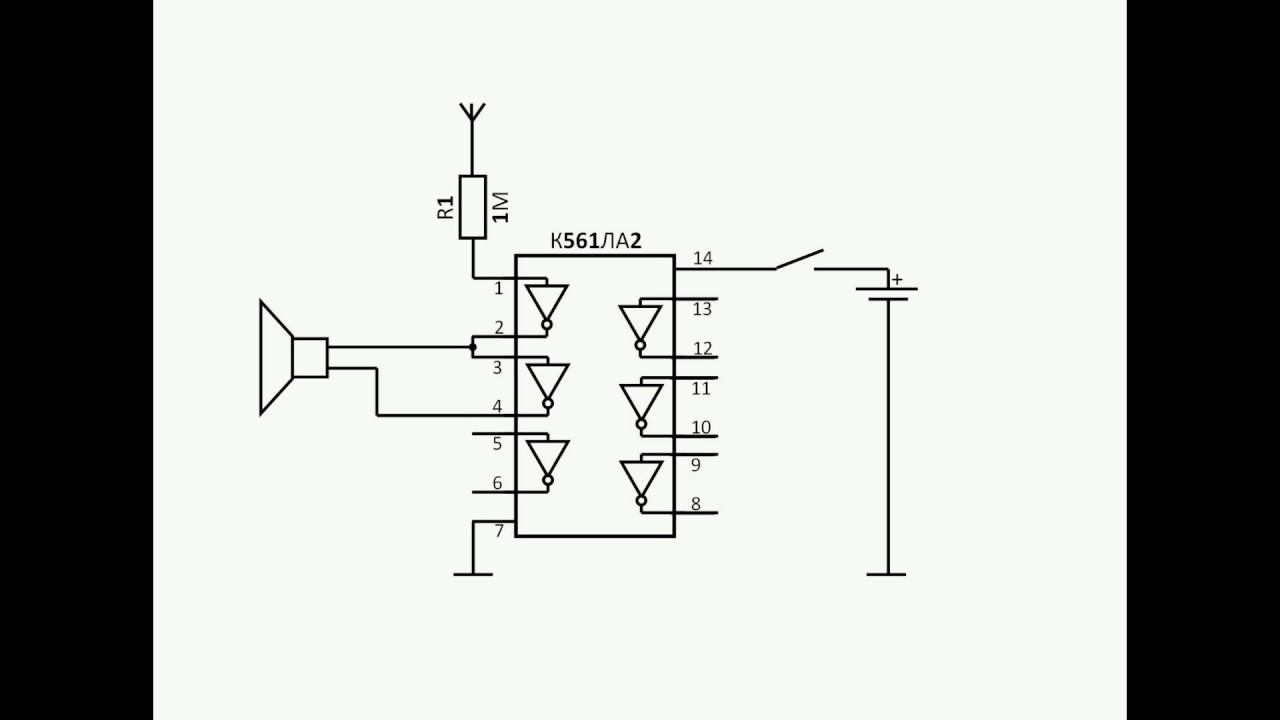 Виды детекторов скрытой проводки и схемы для сборки своими руками