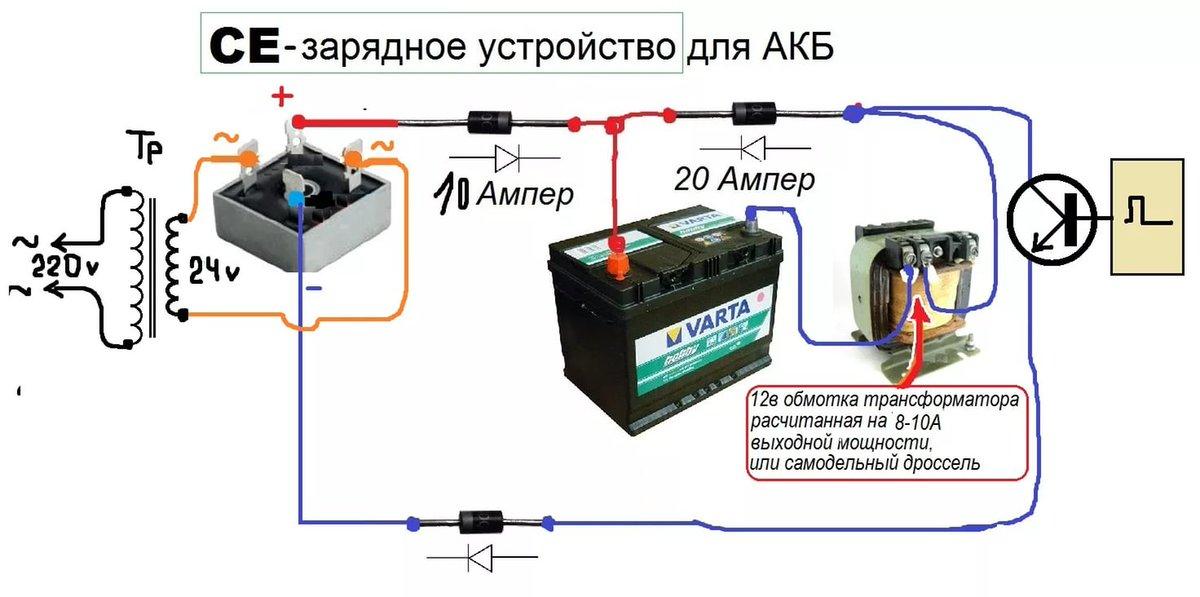 Зарядное устройство своими руками для зарядки автомобильного аккумулятора – инструкция по проектированию и созданию устройства (105 фото и схем)