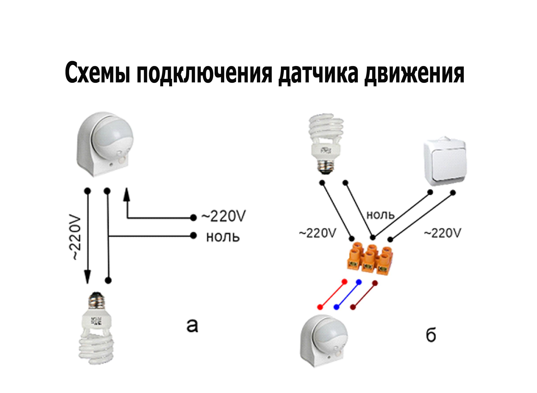 Как отрегулировать датчик движения для включения света