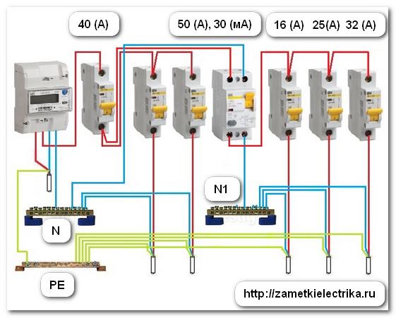 Как выбрать и подключить автомат защиты электропроводки