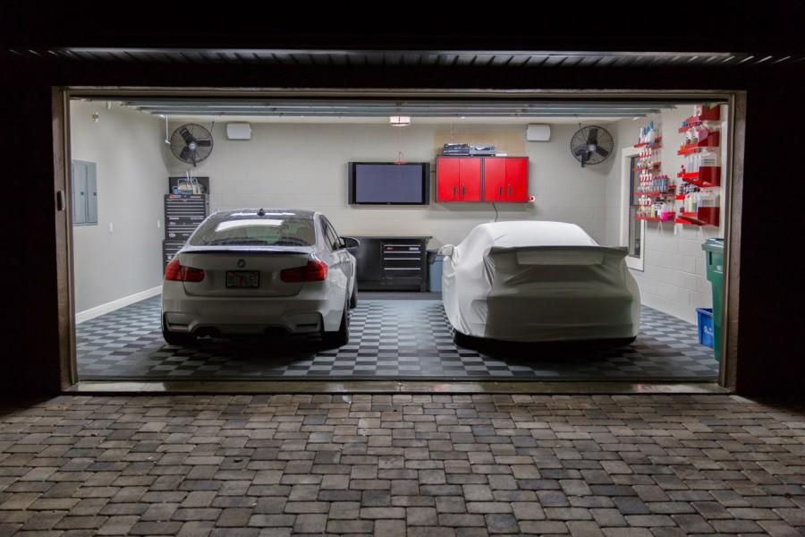 Освещение в гараже своими руками