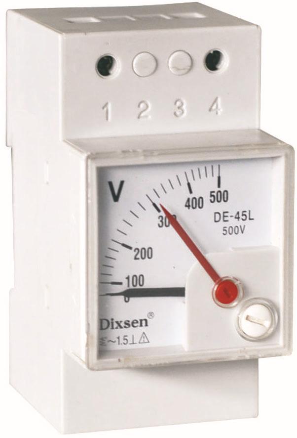 Вольтметр переменного тока на din рейку