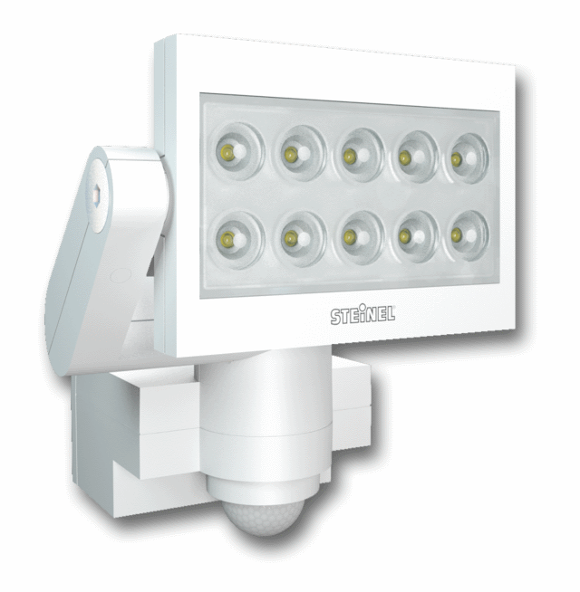 Светодиодные прожекторы с датчиками движения