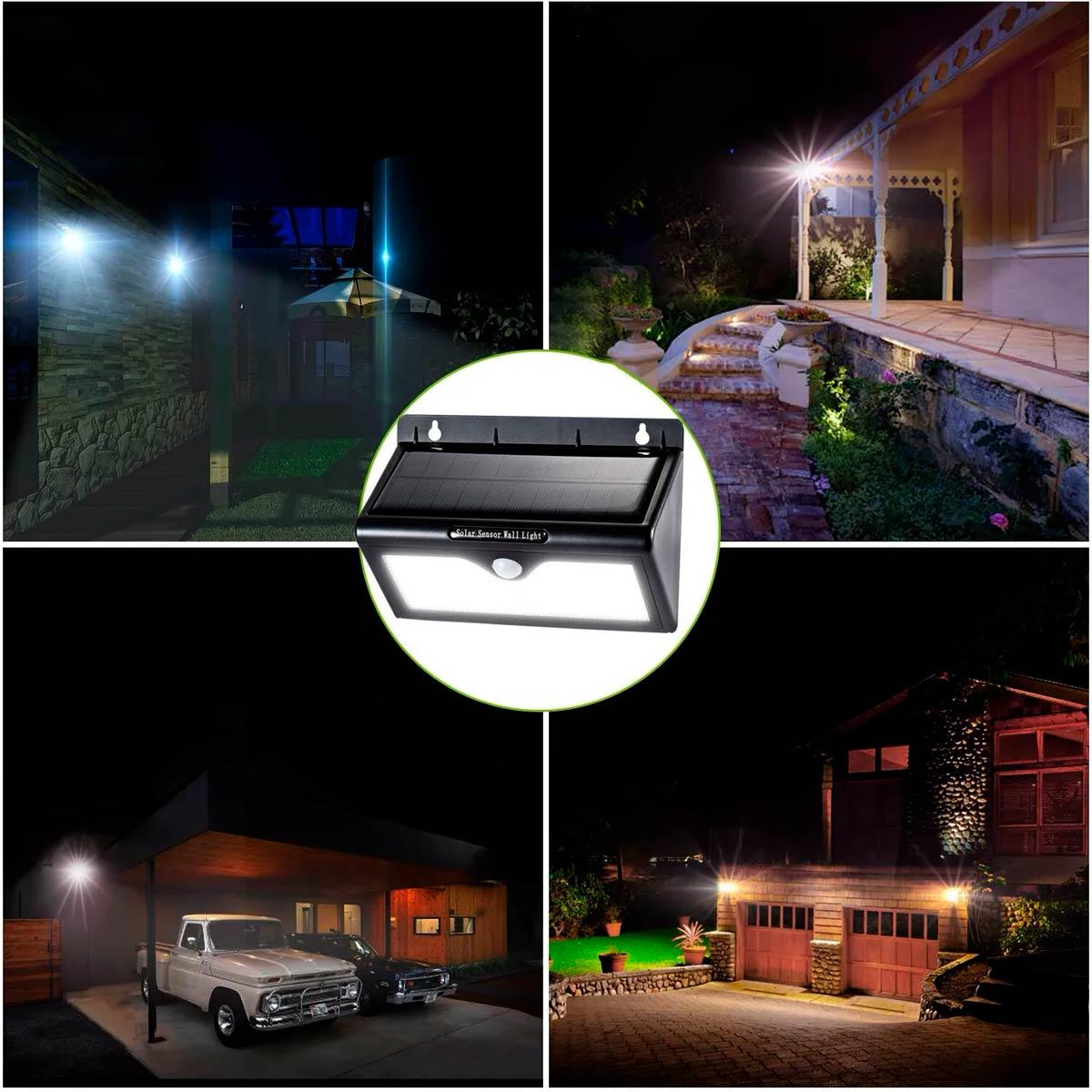 Как смонтировать и подключить уличный прожектор с датчиками движения и освещенности