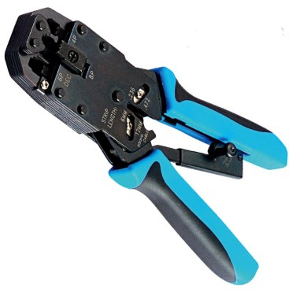 Обжатие провода и наконечника подручными средствами, без пресса и специнструмента.