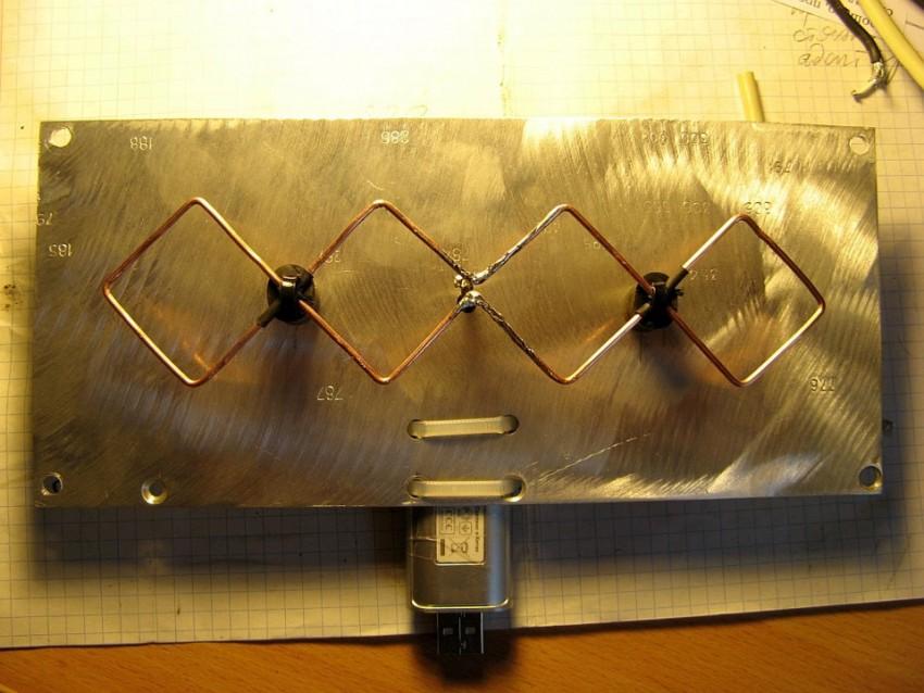 Создание антенны харченко для модемов 3g и 4g своими руками