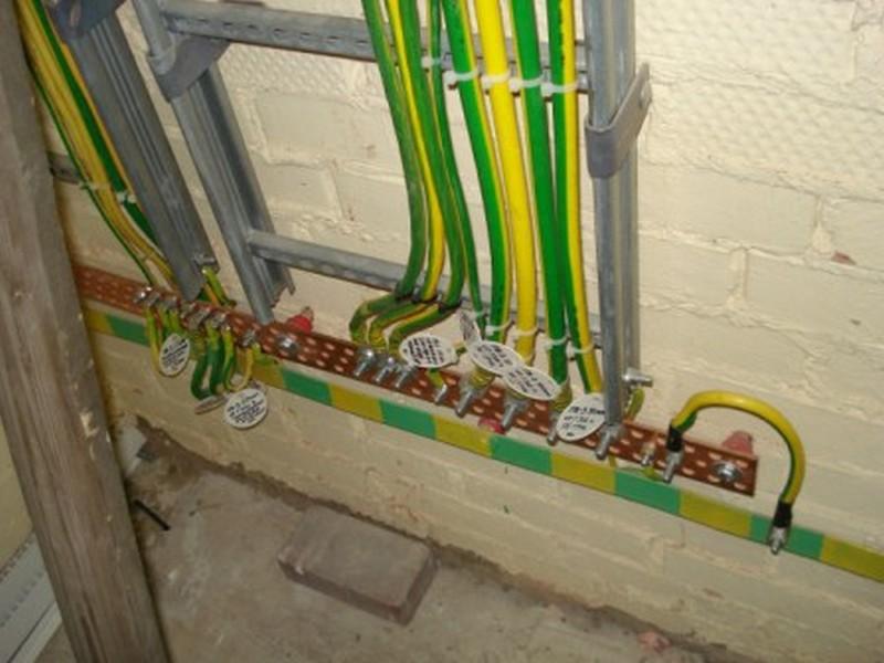 Технология заземления кабельных лотков