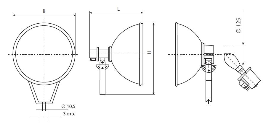Лампы освещения. общие технические характеристики ламп.
