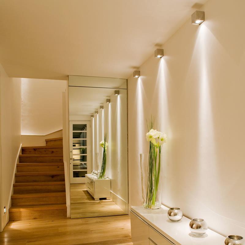 Как создать безопасное освещение в коридоре, прихожей и на лестнице