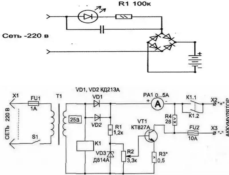 Делаем самодельное зарядное устройство для пальчиковых аккумуляторов