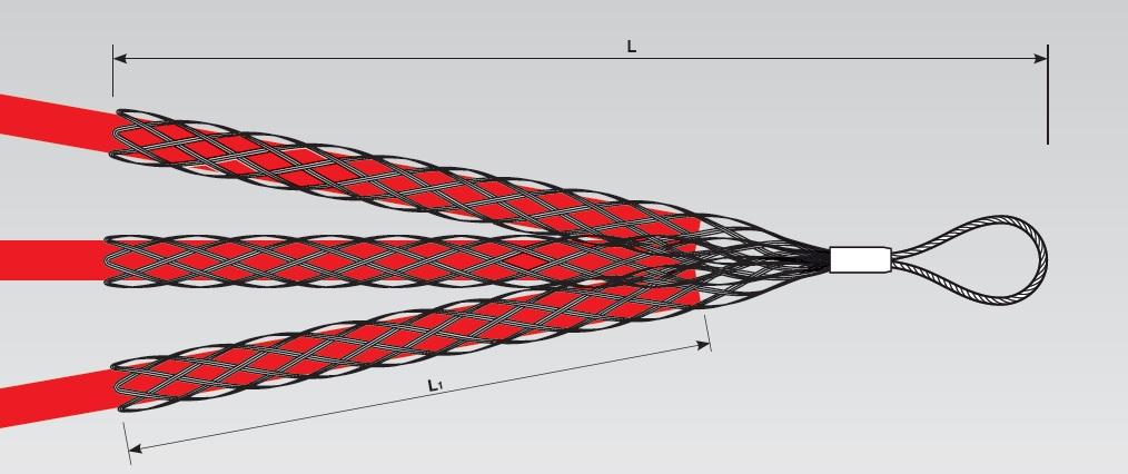 Устройства для протяжки проводов и кабелей через закрытые монтажные каналы
