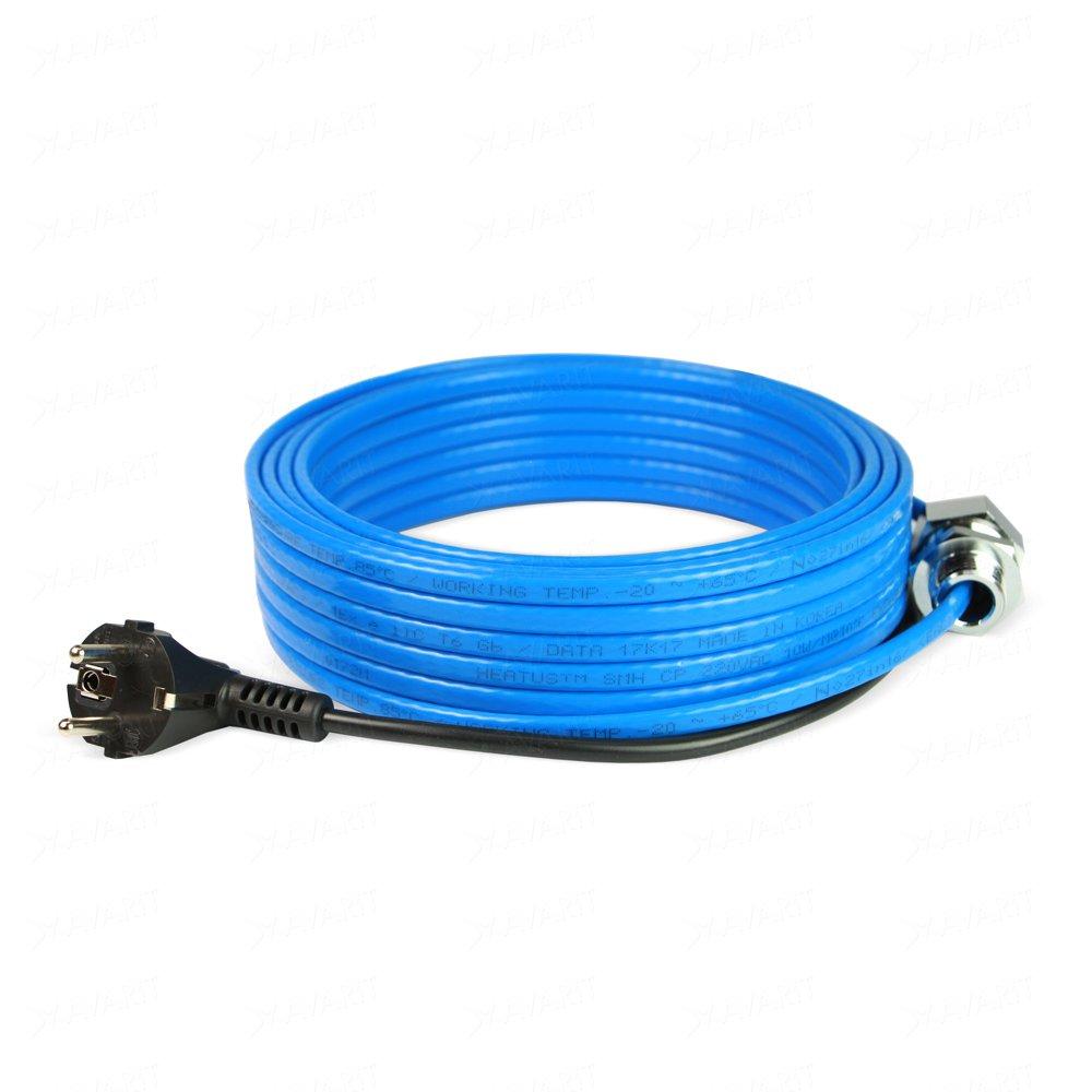 Правила выбора греющего кабеля для водопровода