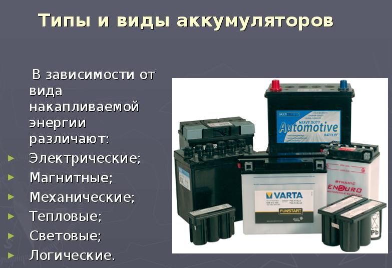 Гибридные автомобильные аккумуляторы