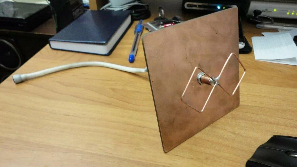 Антенна для компьютера для усиления сигнала вай фай