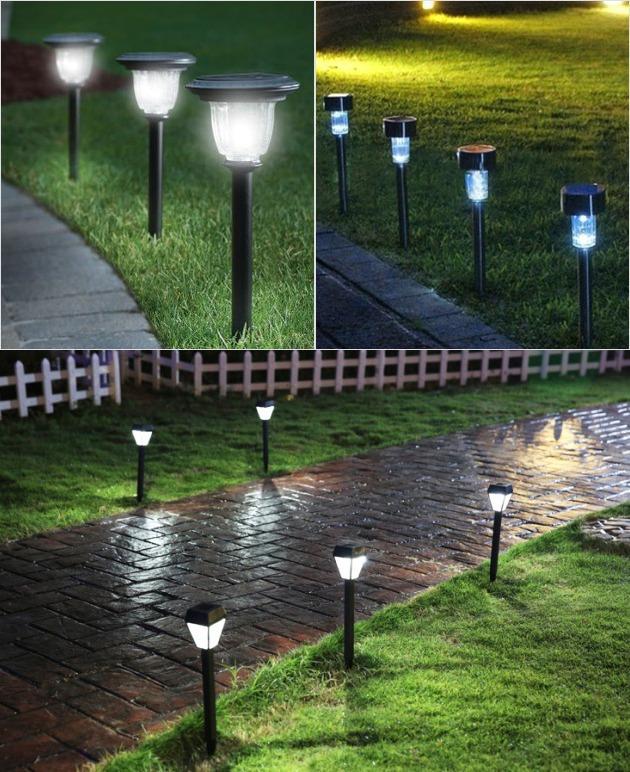 Уличные светильники и фонари для освещения дачного участка