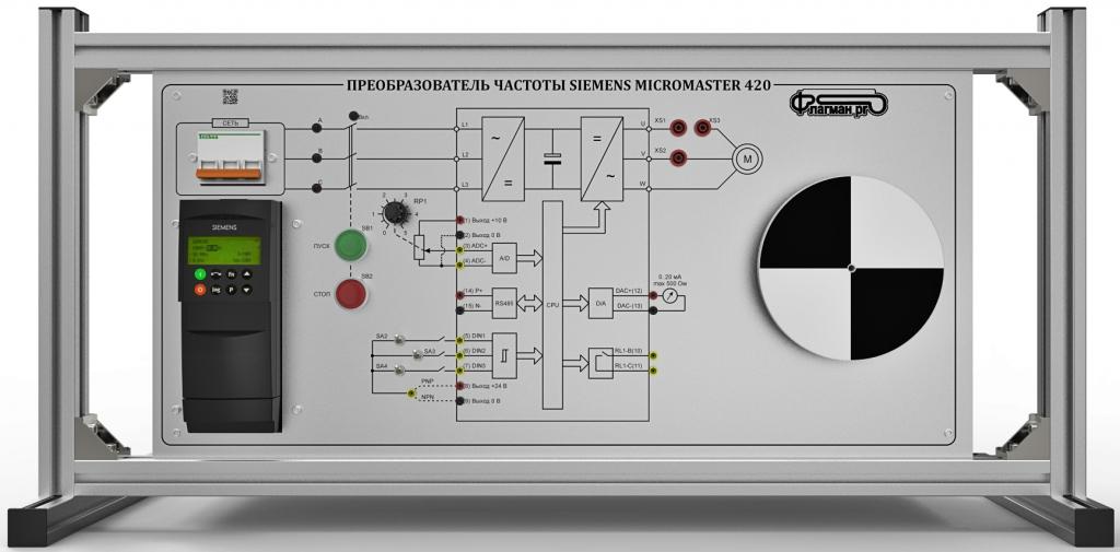 Особенности и схема подключения частотного преобразователя к разным типам электродвигателей