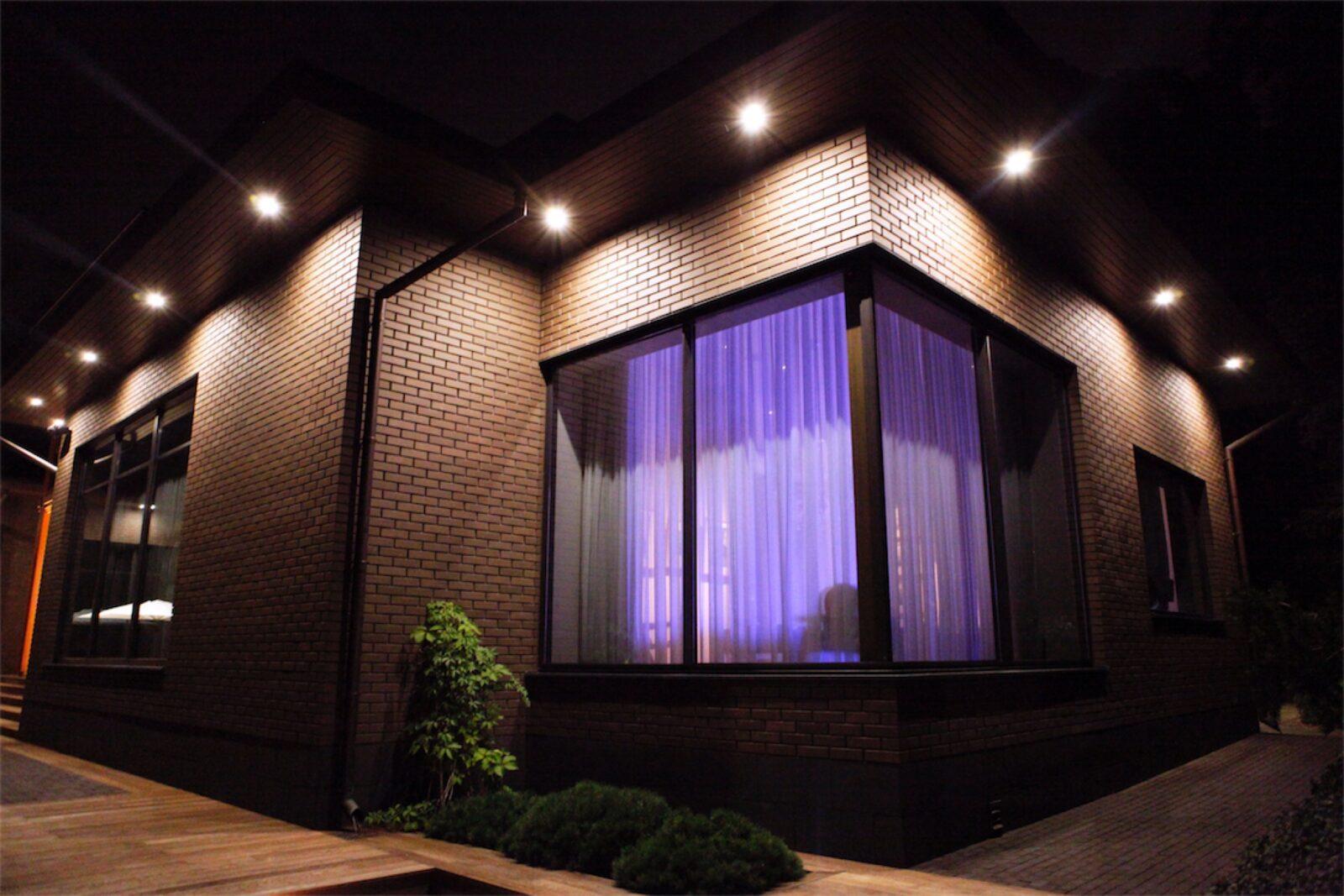 Архитектурная подсветка зданий и фасадов — нормы и разновидности