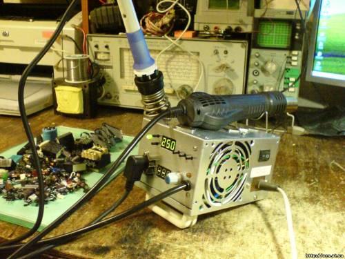 Паяльная станция своими руками: дорогостоящее оборудование за копейки