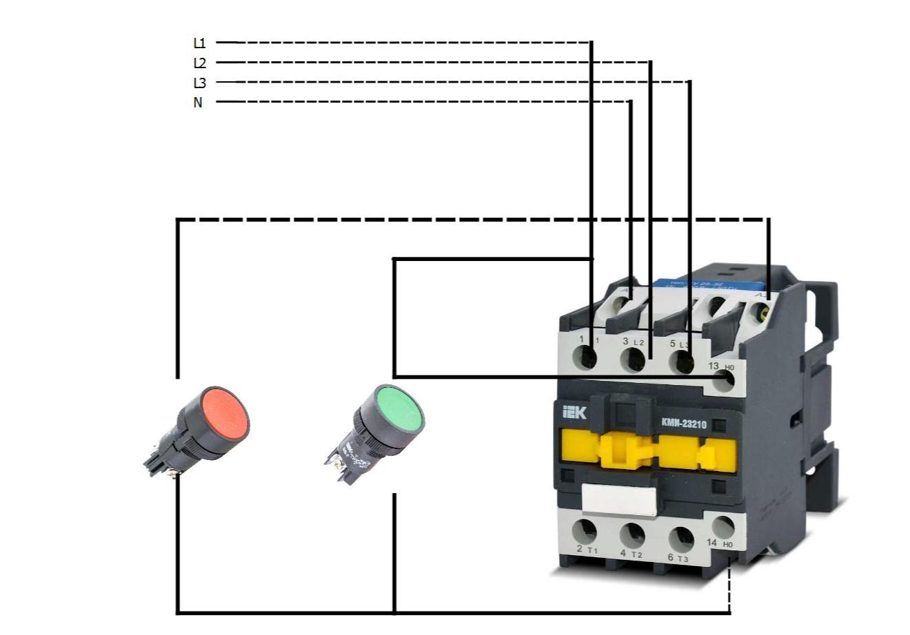 Электромагнитный пускатель 220в