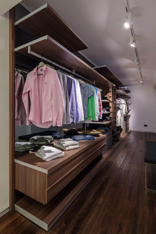 Как организовать освещение в гардеробную? 50 фото лучших дизайнерских решений