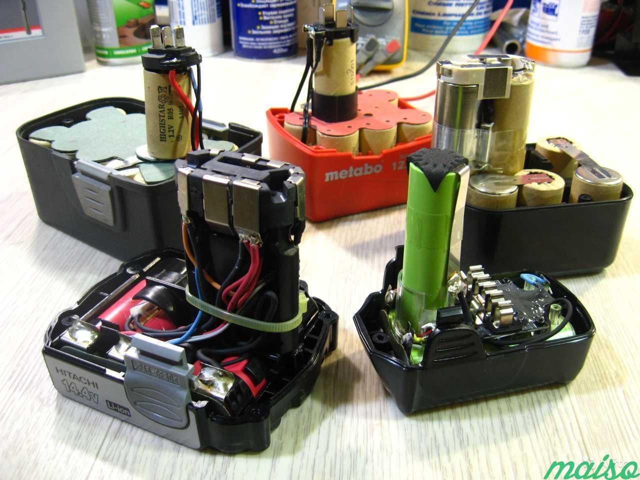 Выбираем, какие аккумуляторы для шуруповёртов лучше