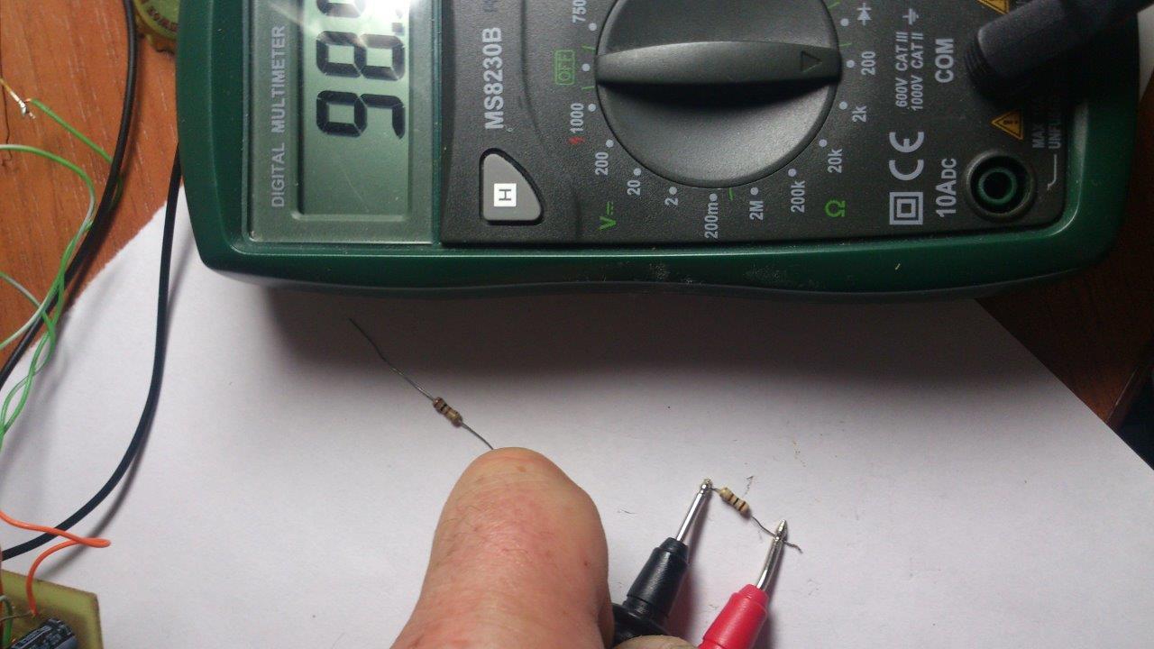 Как проверить сопротивление мультиметром?